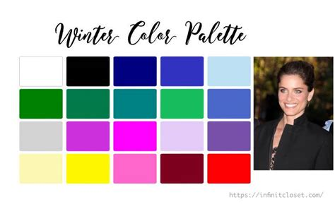 Palette Green All Seasons by Blue Autumn Colour Analysis