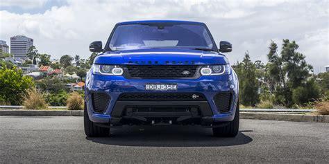 range rover sport svr review  caradvice