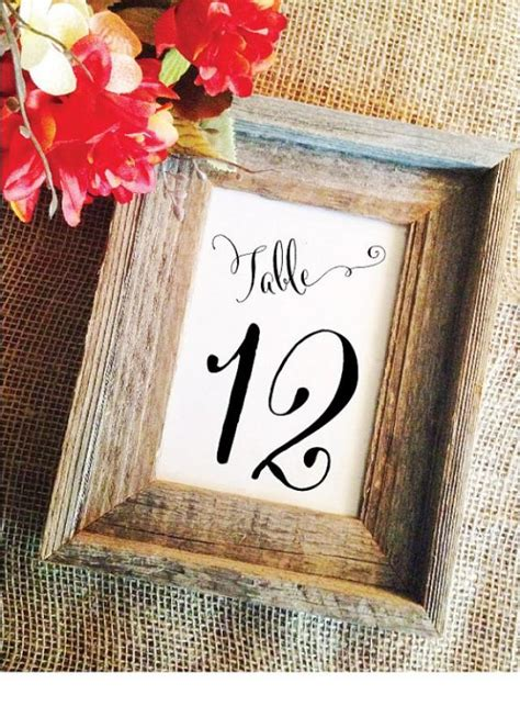 how to make numbers for wedding reception elegant wedding numbers wedding reception