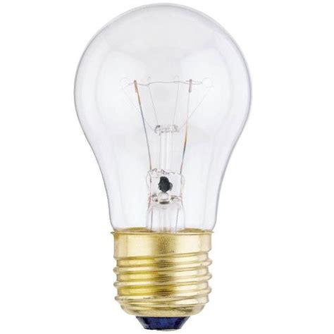 a15 60 watt clear ceiling fan light bulb