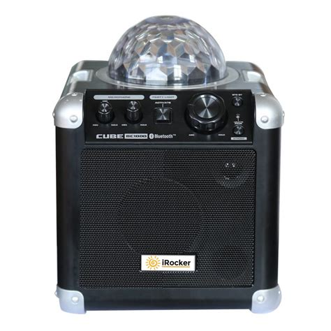 gifts for karaoke fans irocker portable bluetooth karaoke machine bc 1000 the