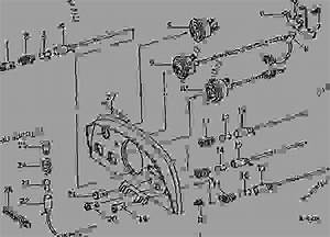 Instrument Panel  Instruments And Indicator Lamps  02k25  - Tractor John Deere 2520