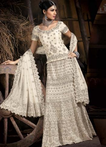celebrity gossip white indian bridal dresses