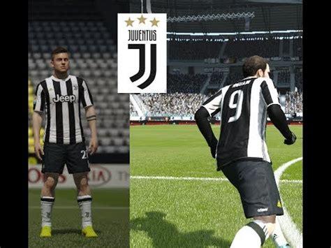 FIFA 16 Juventus Kit 2018