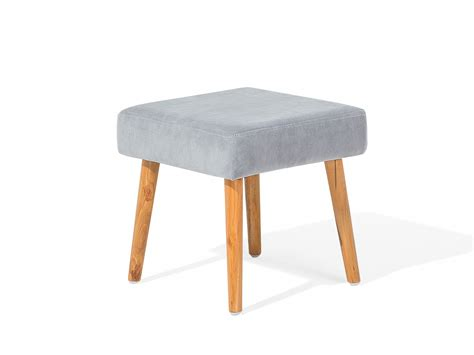 Small Ottoman Stool by Ottoman Stool Footrest Small Living Room Grey Ebay