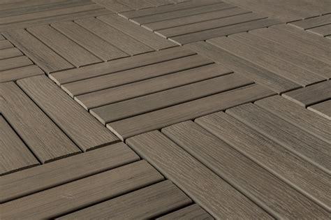 kontiki interlocking wood deck tiles kontiki interlocking deck tiles engineered polymer
