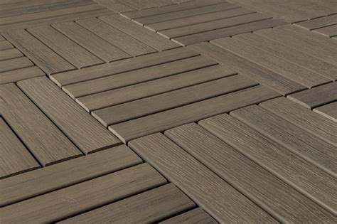 Decking: Authentic Appearance With Composite Deck Tiles