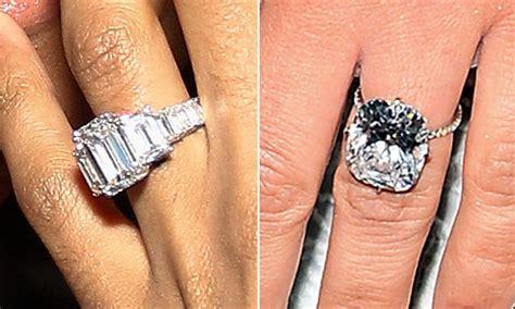 ciara rivals kim kardashian   carat engagement ring