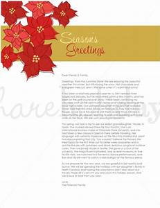 holiday letter template 16 free word pdf psd format With christmas letter templates