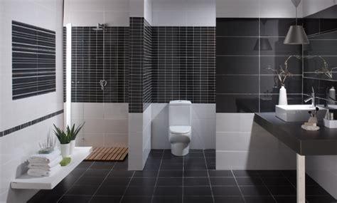 faience salle de bain noir et blanc r 233 novation salle de bain design