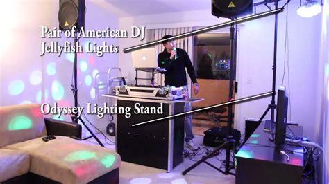 simple dj lighting setup image gallery mobile dj equipment