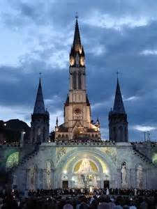The Basilica of Immaculate Conception Our Lady of Lourdes France