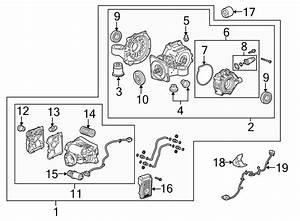Cadillac Xts Differential Lock Wiring Harness  W  Awd  W  O Pre-crash