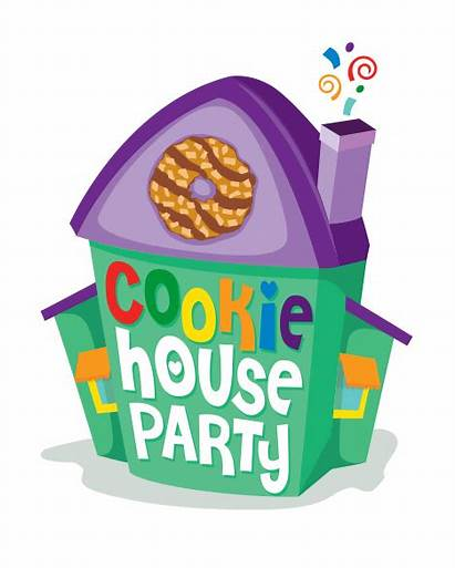 Clipart Party Clip Theme Houseparty Brownie Bakers