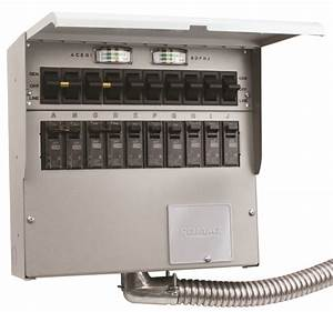 510 Series Reliance Pro  Tran 2 50a Manual Transfer Switch