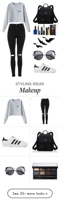 U0026quot;Inspired by Liza Koshyu0026quot; by maya-hopman liked on Polyvore featuring mode adidas Givenchy en ...