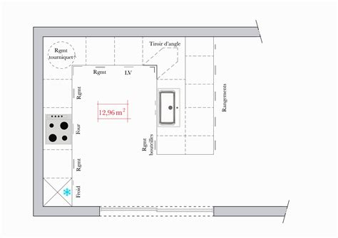 dimensions plan de travail cuisine largeur plan de travail cuisine cuisine naturelle