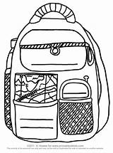 Backpack Coloring Printable Pages Printables Activity Activities Pre Backpacks Sheet Preschool Kindergarten Worksheet Writing Word Puzzles Number Printing Printables4kids Worksheets sketch template