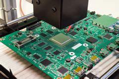 Repair Electronic Circuit Board Stock Image