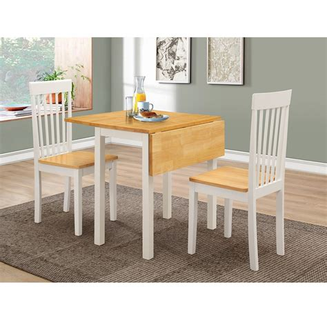 dining table set for 2 drop leaf table and dining chairs set