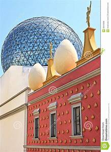 Outside View Of Dali's Museum, Figueres Royalty Free Stock ...