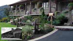 amenagement paysager de banlieue de style champetre With amenagement petit jardin exterieur 12 avant de realiser une clature
