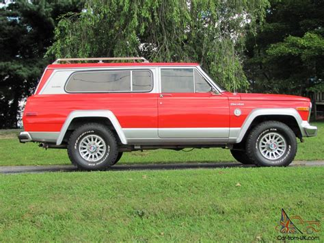 1979 jeep cherokee chief rare classic 1979 jeep cherokee chief s model
