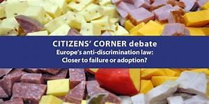 Citizens' Corner debate on Europe's anti-discrimination ...