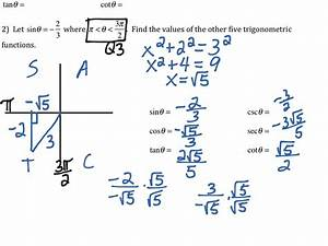 Solving Right Triangles Trigonometry Worksheet Answers