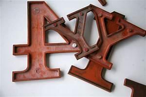 wooden vintage shop letters clarendon font cream and With antique wooden letters