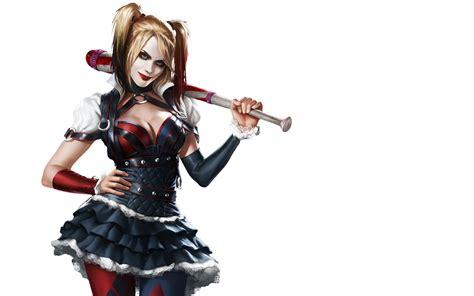 Wallpaper Harley Quinn, Batman, Arkham Knight, 4k, Games, #737