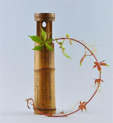 Bamboo Vase by Bamboo Hanging Vase