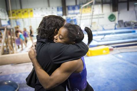 Simone Biles with Her Sister