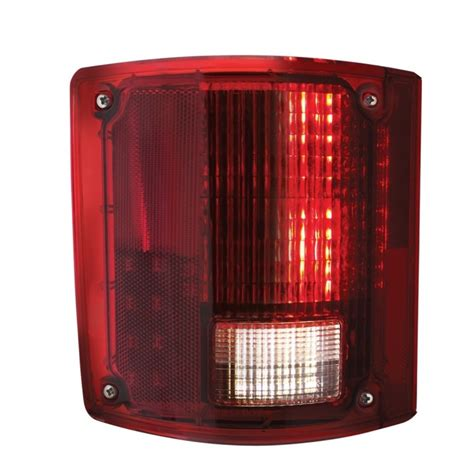 chevy truck tail lights 2 1973 87 chevy gmc truck led sequential tail lights w o