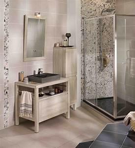 Meuble bois modele eden http wwwlapeyrefr bains for Salle de bain design avec vasque en galet
