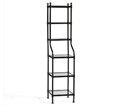 Metal Etagere Tower metal etagere tower pottery barn