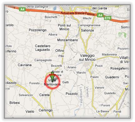 Mappa Volta Mantovana by Dove Siamo Day