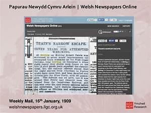 Finding Belgian Refugees in Cymru1914.org: Using Digital ...