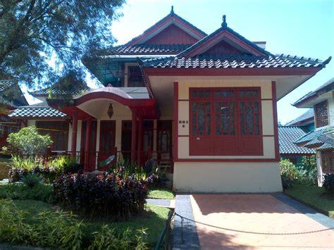 Sewa Villa Kota Bunga Puncak Type Oriental 3 Kamar