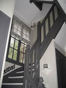 charmant deco d escalier r novation co entr e cage en bois