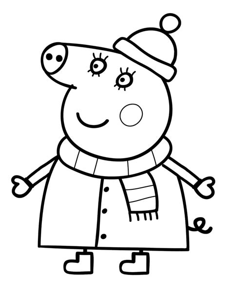 30 Printable Peppa Pig Coloring Pages You Won t Find