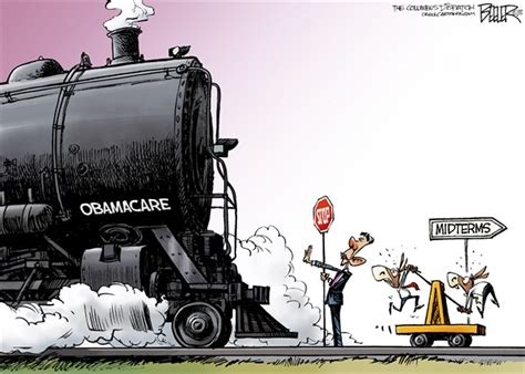 Here Comes The Obamacare Train