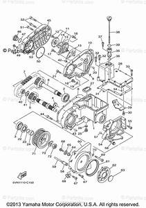 Yamaha Motorcycle 2005 Oem Parts Diagram For Middle Drive