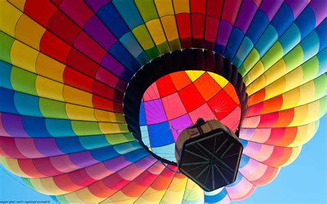 Hot Air Balloons Colorful Photography Landscape