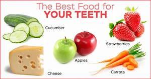 healthy teeth top 5 foods