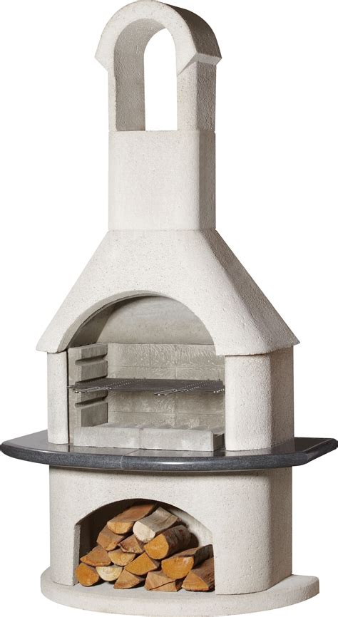 sale  buschbeck ambiente masonry barbecue fireplace