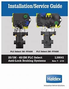 Haldex L30041 Installation  U0026 Service Manual