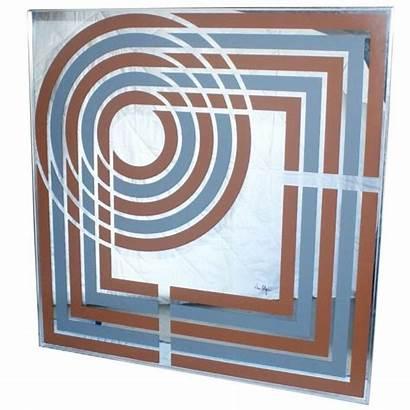 Greg Copeland Mirror Graphic Artwork Geometrical Wall