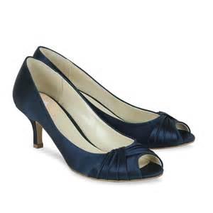 navy blue bridesmaid shoes pink paradox navy blue satin shoes wedding shoes bridal accessories
