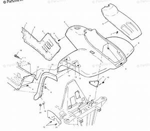 Polaris Atv 2001 Oem Parts Diagram For Front Cab